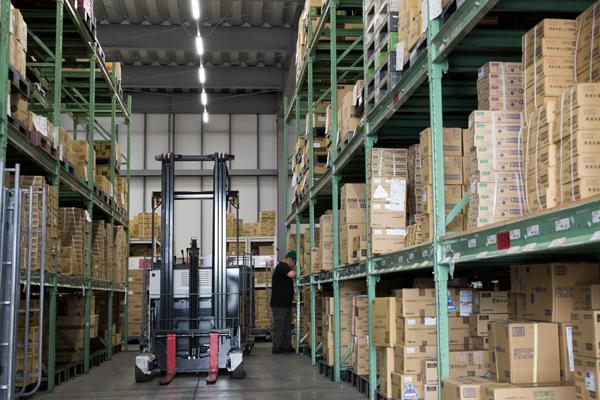 3PL(保管・仕分け・配送・組み立て)で一貫した効率性のある業務体系