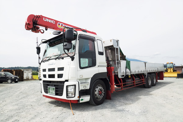 重量物・建築資材輸送 サンライズ産業