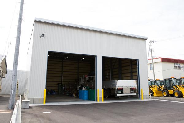 サンライズ産業自動車整備工場1