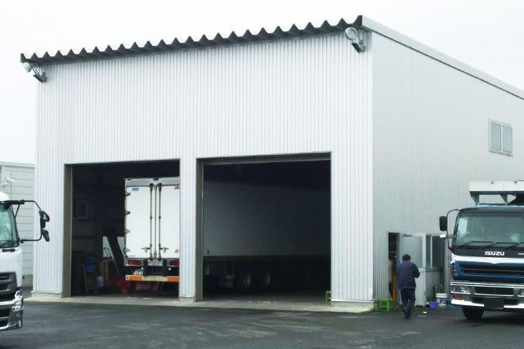 岩手県花巻市サンライズ産業自動車整備工場