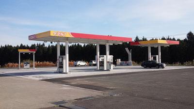 ガソリンスタンド(セルフ)